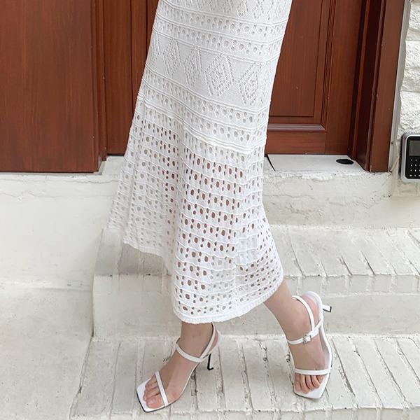 benito-크렌시 스트랩 샌들 힐 9.5cm 신상/샌들/베스트/여성/데일리♡韓國女裝鞋