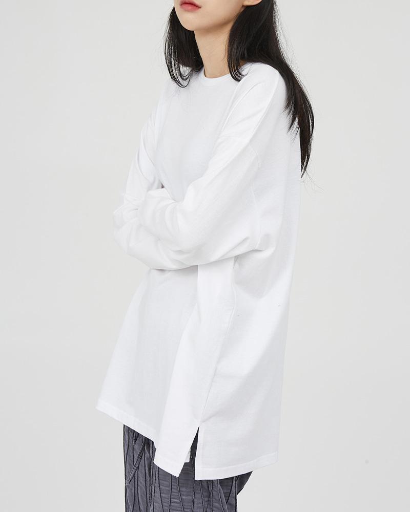 raucohouse-사이드 슬릿 롱 슬리브♡韓國男裝上衣