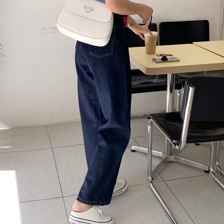 mimididi-[deep blue♡ 팬츠_4156]♡韓國女裝褲