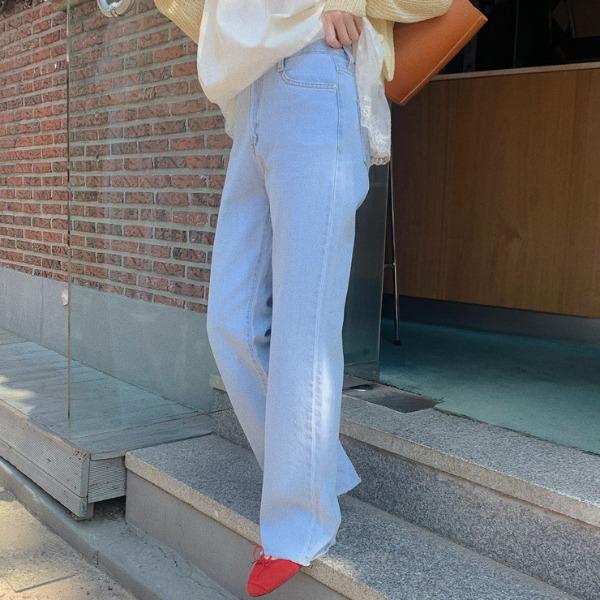 heylady-코유 와이드 데님팬츠♡韓國女裝褲