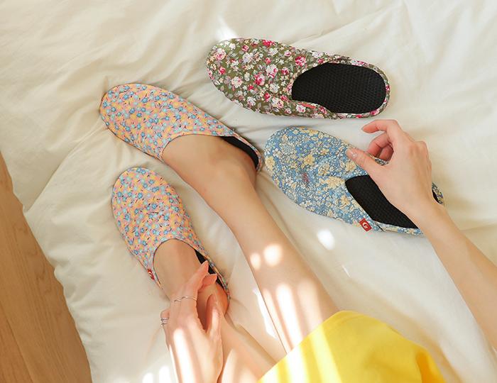 pinksisly-층간소음방지 워킹 슬리퍼♡韓國女裝鞋