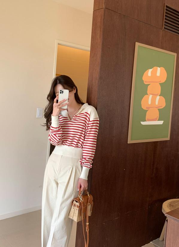 againby-[시그널카라 nt]♡韓國女裝上衣