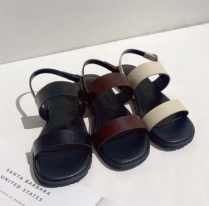 common-unique--로칸 버클 스트랩 샌들♡韓國女裝鞋