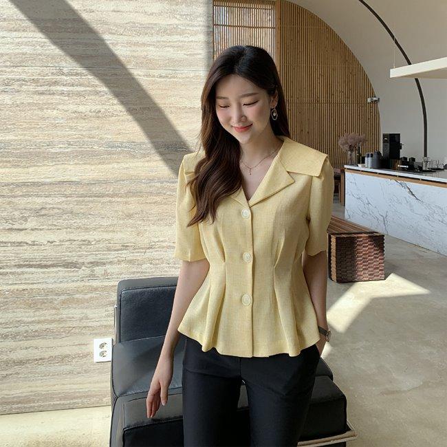 likeher-디젤 플랫블랑bl♡韓國女裝上衣
