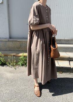 ifgirl-버튼 원피스 (3color)♡韓國女裝連身裙
