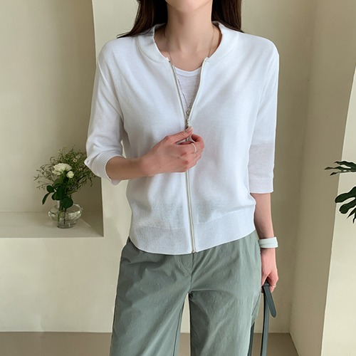 dodry-BU17577 5부 썸머 집업♡韓國女裝外套