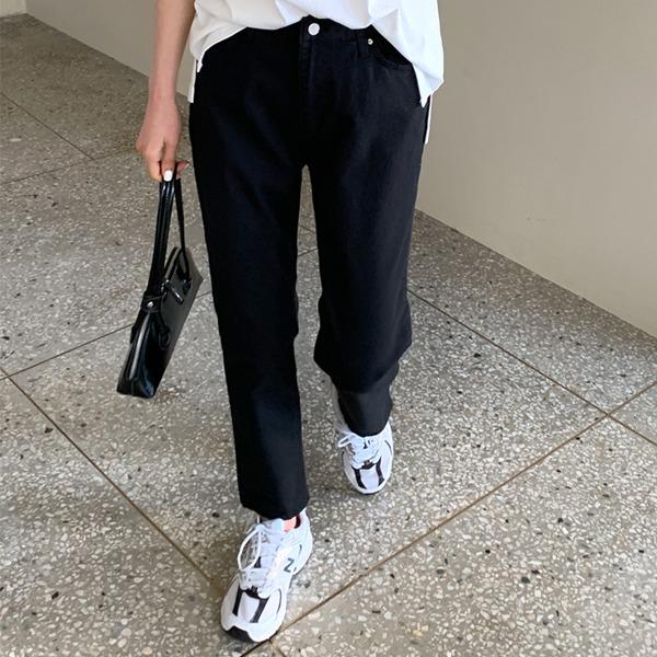 66girls-[M] 속밴드슬림세미배기P♡韓國女裝褲