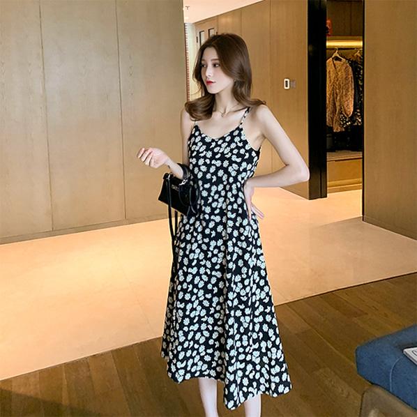 fashion-full-디나 데이지 나시 원피스♡韓國女裝連身裙