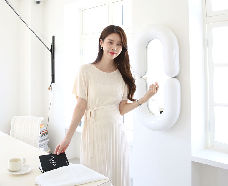 happy10-[*신상10% 기간한정할인*임부복*모닝골지 니트 원피스]♡韓國孕婦裝連身裙