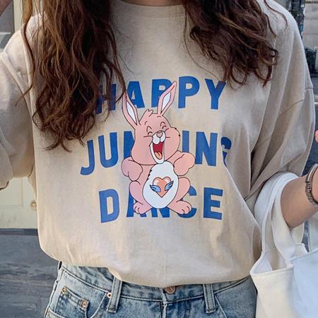 mimididi-[ happy dance♡ 티_1123]♡韓國女裝上衣