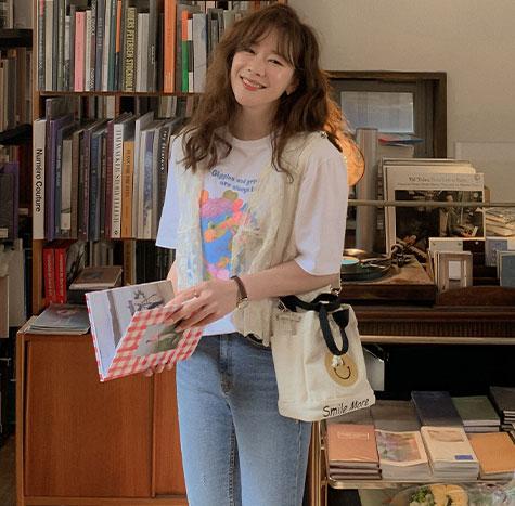 leelin-[리시안 레이스 자수  블라우스[size:F(55~77)]]♡韓國女裝上衣