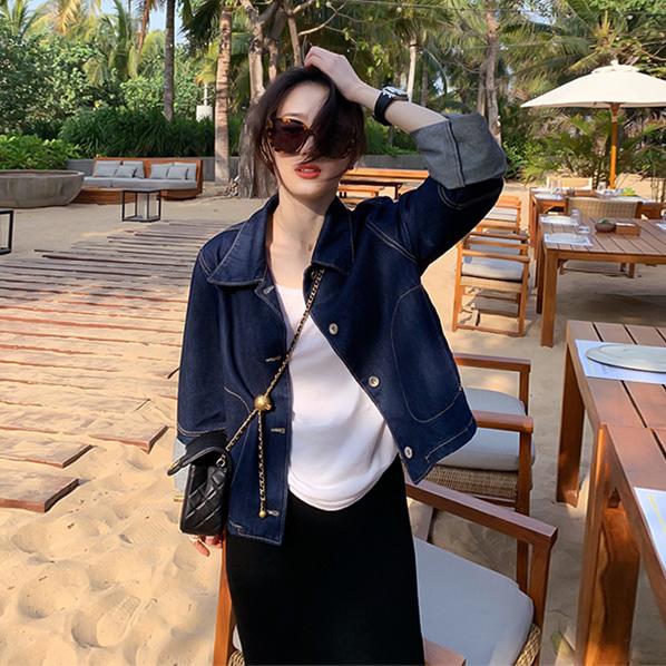 fashion-full-토론토 생지 데님 자켓♡韓國女裝外套