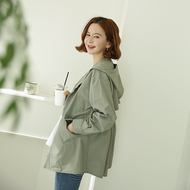 lemite-후드 케이프자켓♡韓國女裝外套