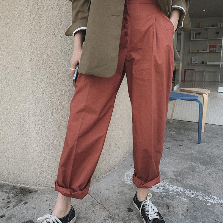 hanaunni-버트린 -pt♡韓國女裝褲