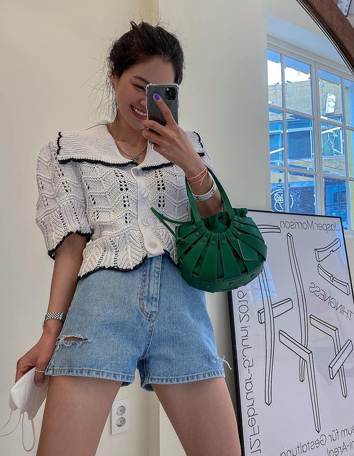 maymay-오드 청반바지♡韓國女裝褲