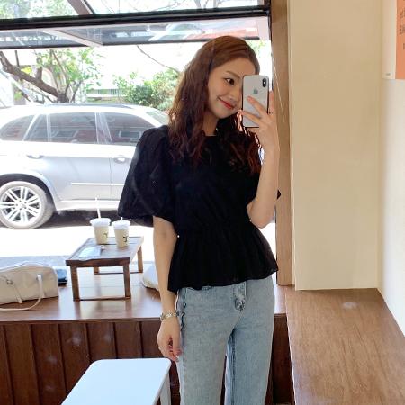 mimididi-[holiday♡ 블라우스_2084]♡韓國女裝上衣