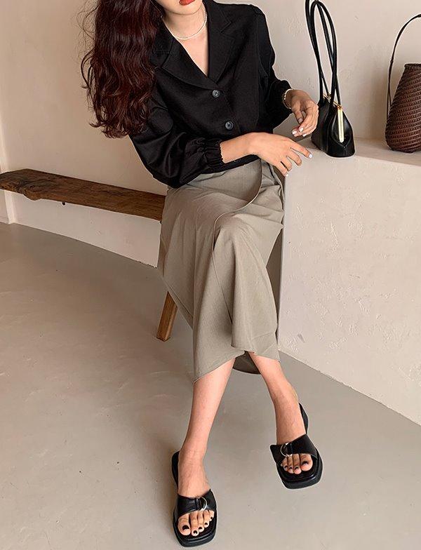 browncode-sienna jacket♡韓國女裝外套