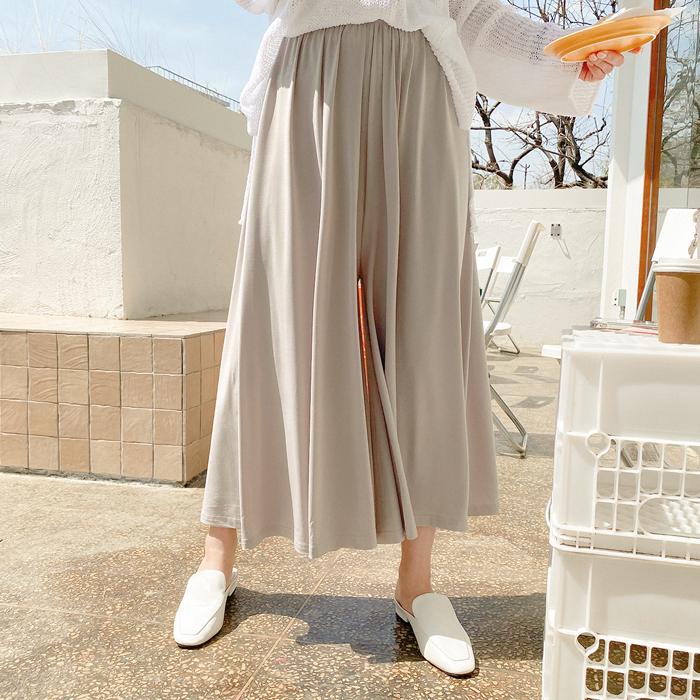 09women-[제코뮤 허리밴드 찰랑 와이드 팬츠 59037]♡韓國女裝褲