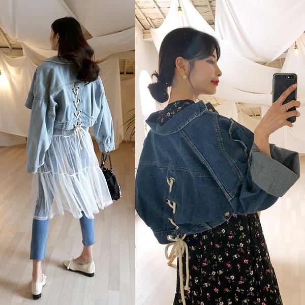 QNIGIRLS-스트릿걸@아일렛청자켓♡韓國女裝外套