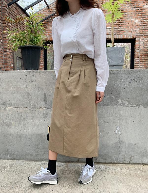 browncode-kello skirt♡韓國女裝裙