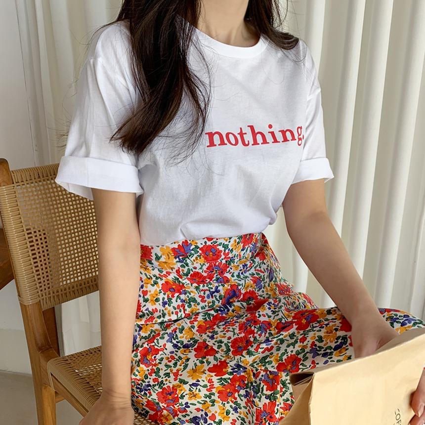 envylook-낫띵배색티셔츠♡韓國女裝上衣