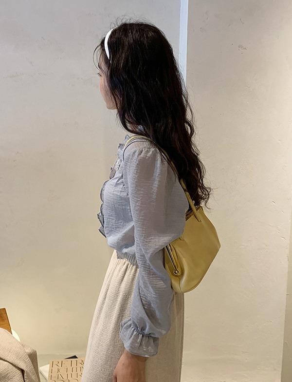 browncode-patti blouse♡韓國女裝上衣