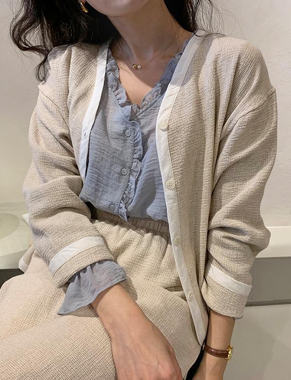 browncode-milly cardigan♡韓國女裝外套