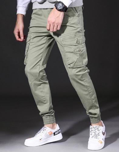 snipershop-이폴스 포켓 일자 카고팬츠♡韓國男裝褲子