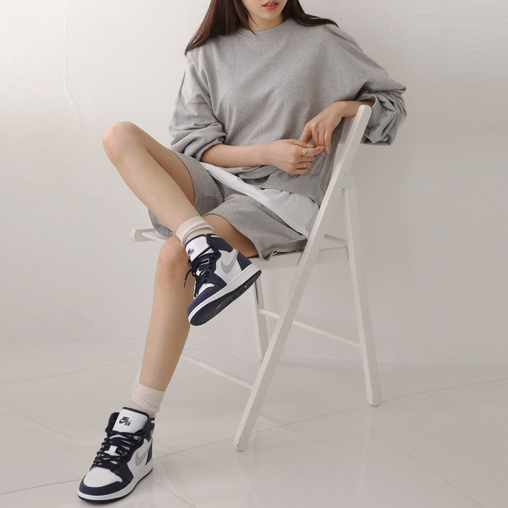 ppgirl-루시 반바지 맨투맨세트set H274♡韓國女裝套裝