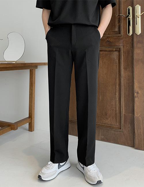 from-us-건 슬라이스 와이드 슬랙스 (4color)♡韓國男裝褲子