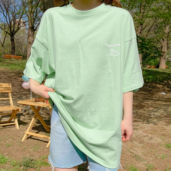 09women-[시에른 나염 반팔 티셔츠 58996]♡韓國女裝上衣