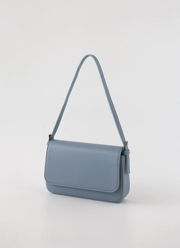 againby-[블루스퀘어숄더 bag]♡韓國女裝袋