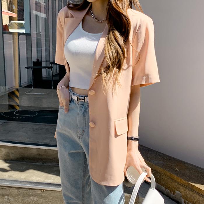 deepny-히레투버튼자켓♡韓國女裝外套