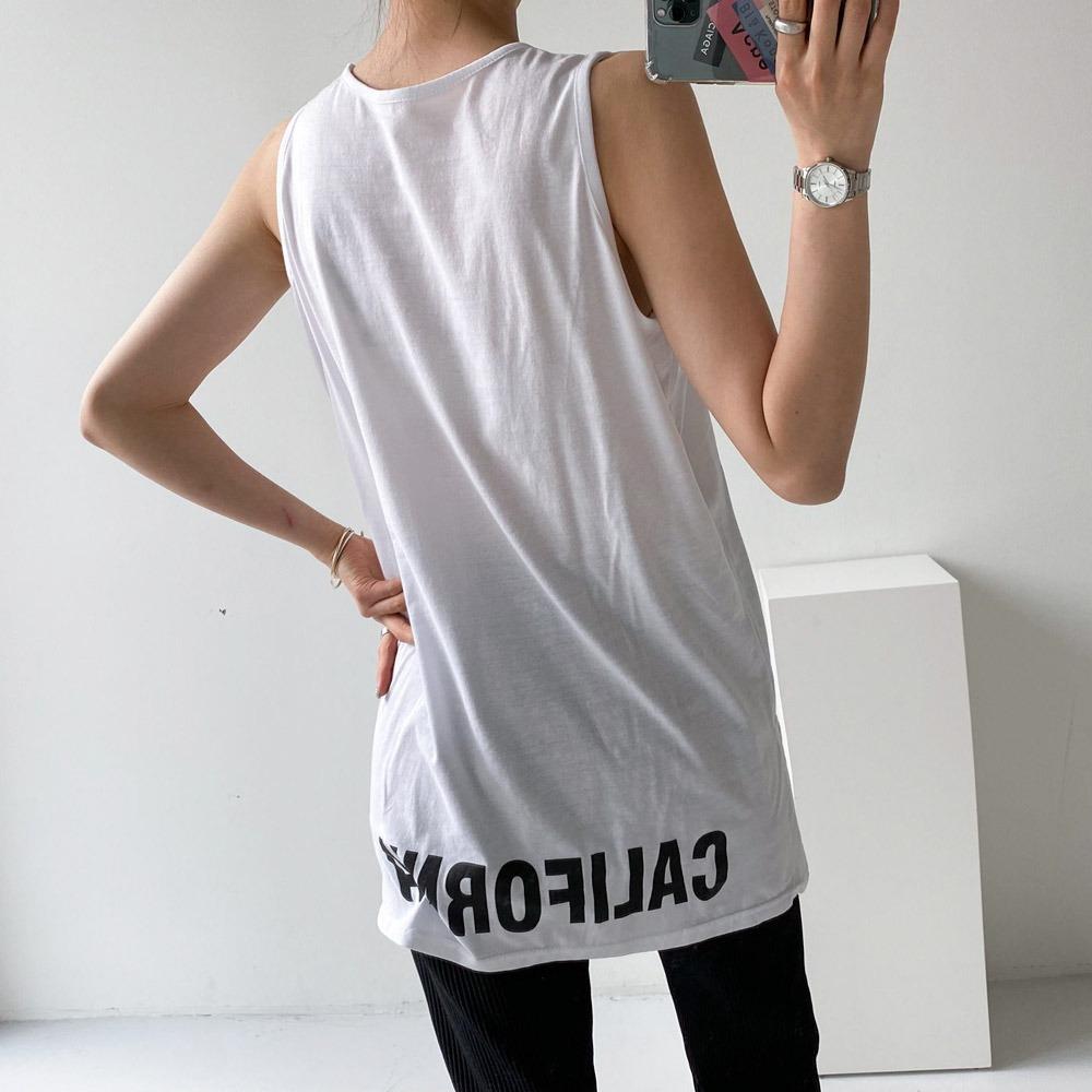 ppgirl-캘리포니아 레이어드 나시티t H288♡韓國女裝上衣