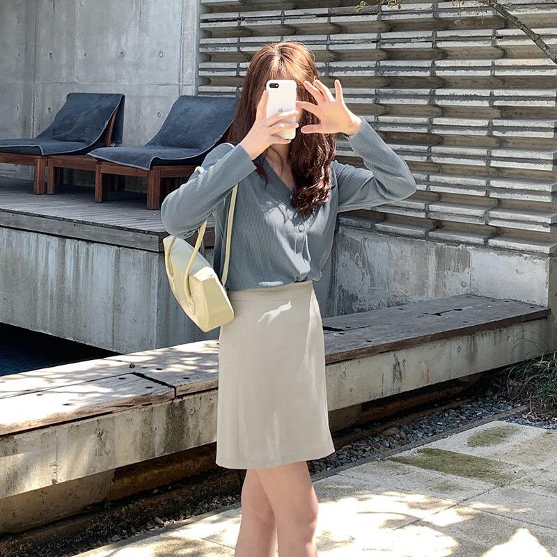 laurenhi-다언 골지 브이넥 투웨이 가디건 - 6 color♡韓國女裝外套