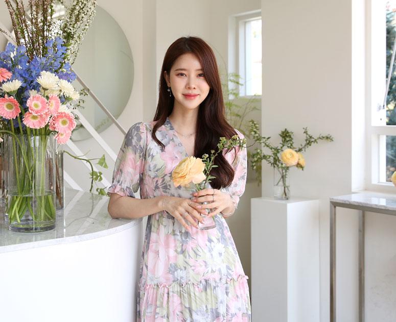 happy10-[*신상5% 기간한정할인*임부복*스윗로즈 원피스]♡韓國孕婦裝連身裙