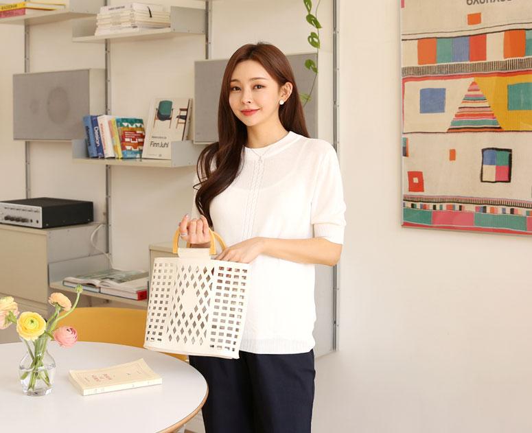 happy10-[*신상5% 기간한정할인*임부복*꼬임무드 니트]♡韓國孕婦裝上衣