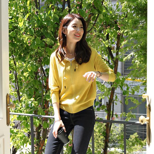tiramisu-0450로직후드니트가디건♡韓國女裝外套