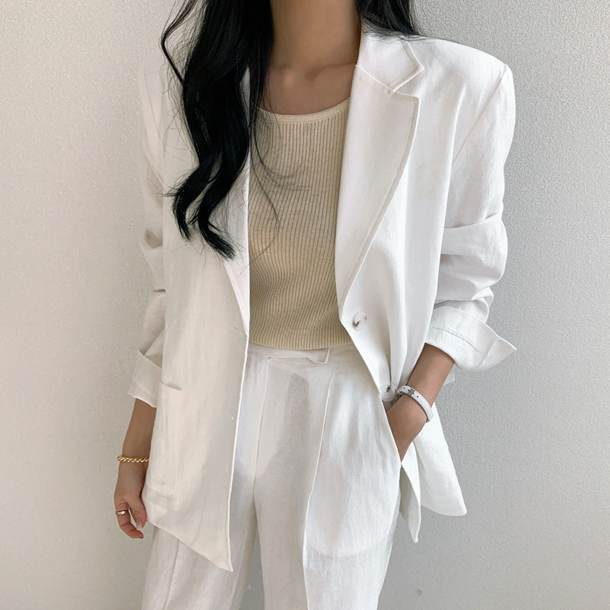 miamasvin-하빌드 싱글 자켓♡韓國女裝外套