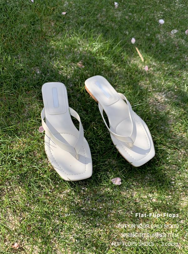 uptownholic-[플랫 쪼리 shoes (*3color)]♡韓國女裝鞋