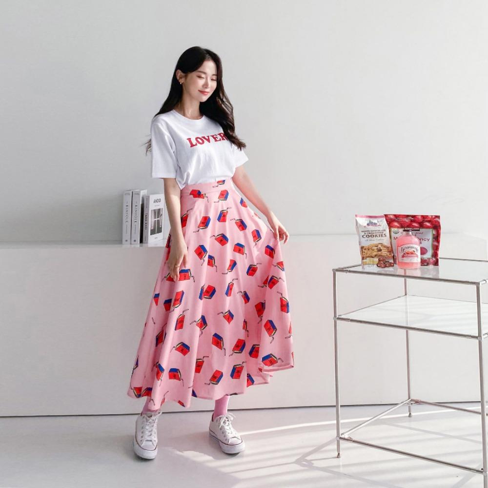 ppgirl-달콤 A라인롱 스커트sk H299♡韓國女裝裙