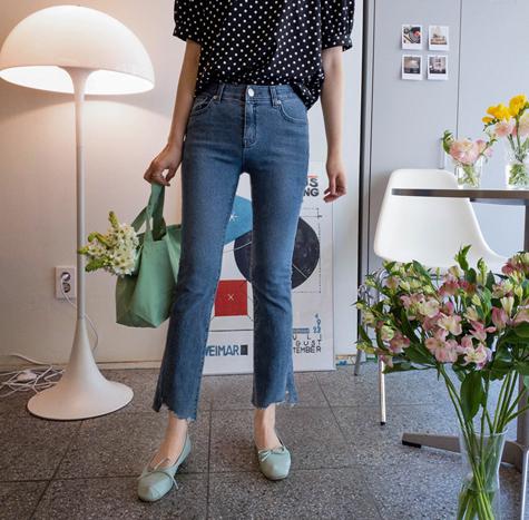 leelin-[하이먼드 슈커팅 밴드팬츠[size:S,M,L,XL]]♡韓國女裝褲