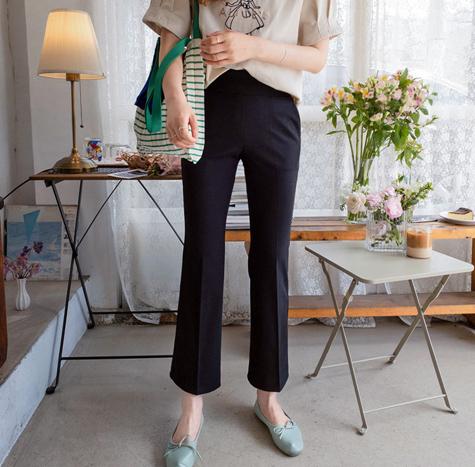 leelin-[카이로스 신축 빅밴드 팬츠[size:S,M,L,XL]]♡韓國女裝褲