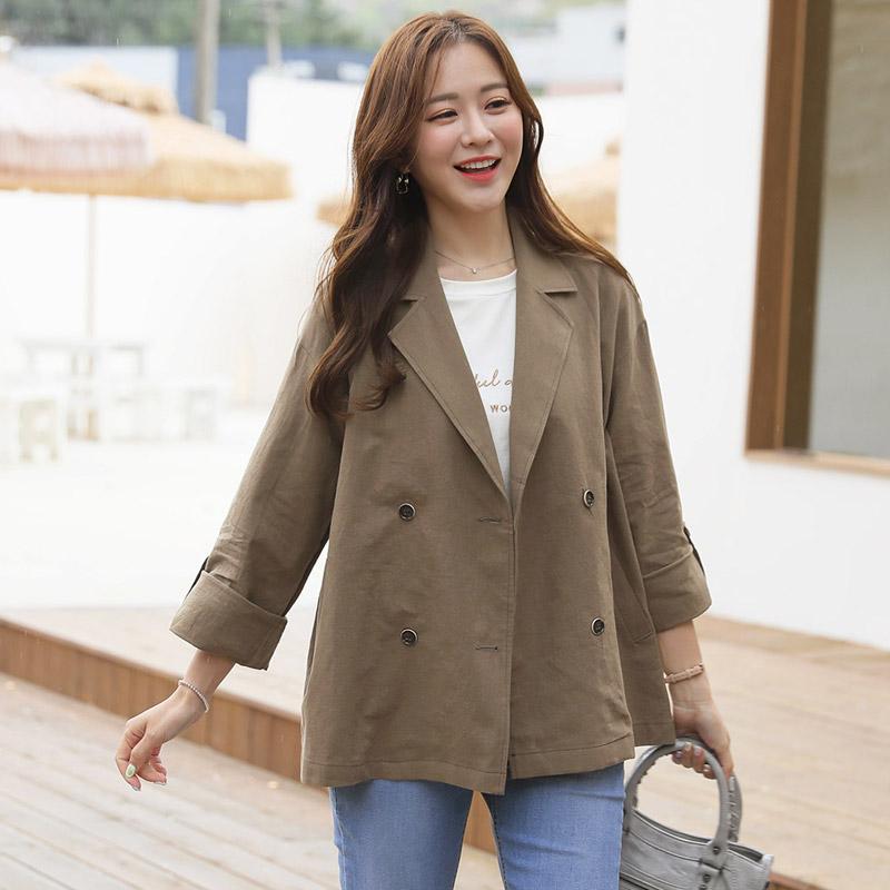 clicknfunny-벨퀸 숏트렌치코트♡韓國女裝外套