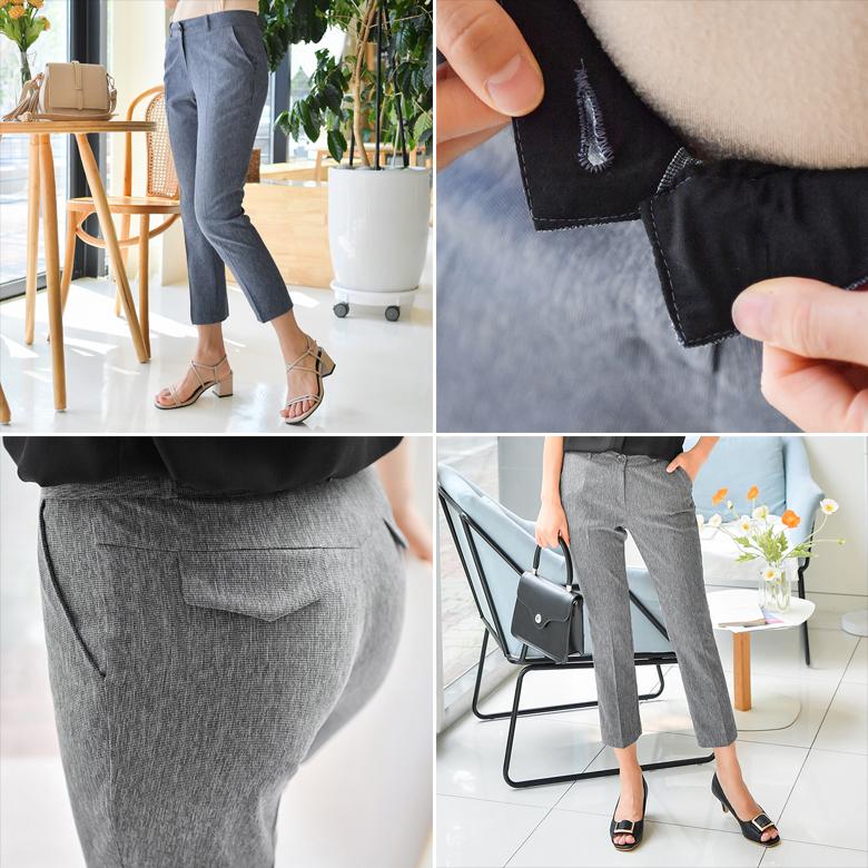 midasb-[루티아 보카시 일자핏 슬랙스]♡韓國女裝褲