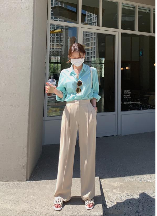againby-[러쉬와이드 pants]♡韓國女裝褲