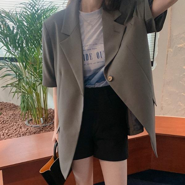 heylady-카탈리 반팔자켓♡韓國女裝外套