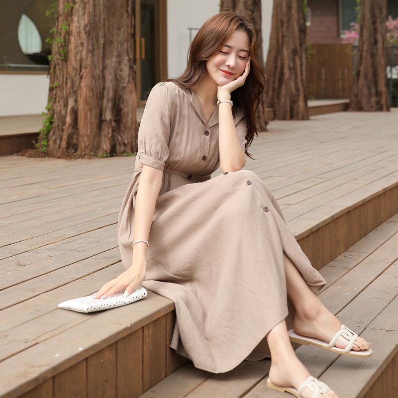 clicknfunny-연멜론 롱원피스♡韓國女裝連身裙