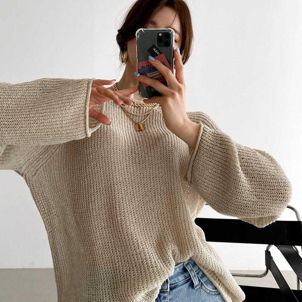 ppgirl-여리핏 입술넥 니트nt H304♡韓國女裝上衣