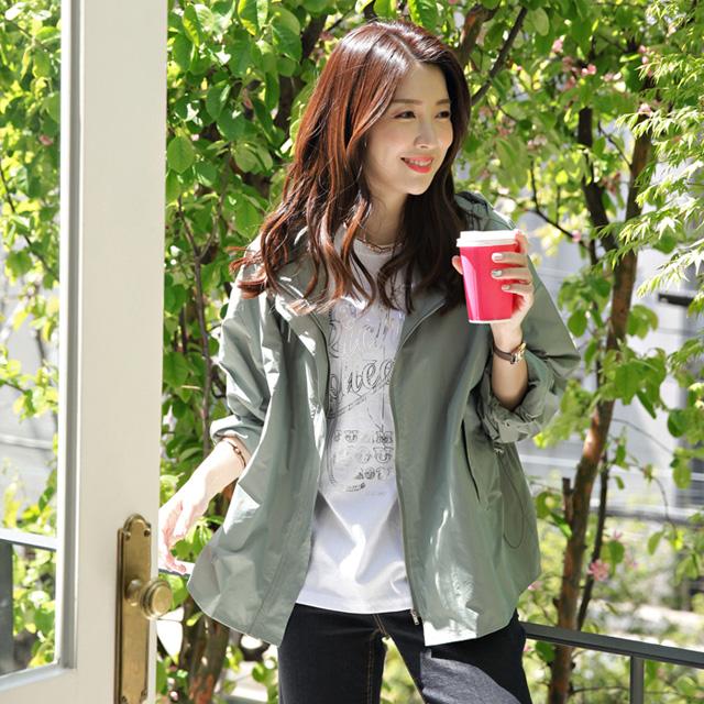 tiramisu-0435봄햇살바람막이점퍼♡韓國女裝外套